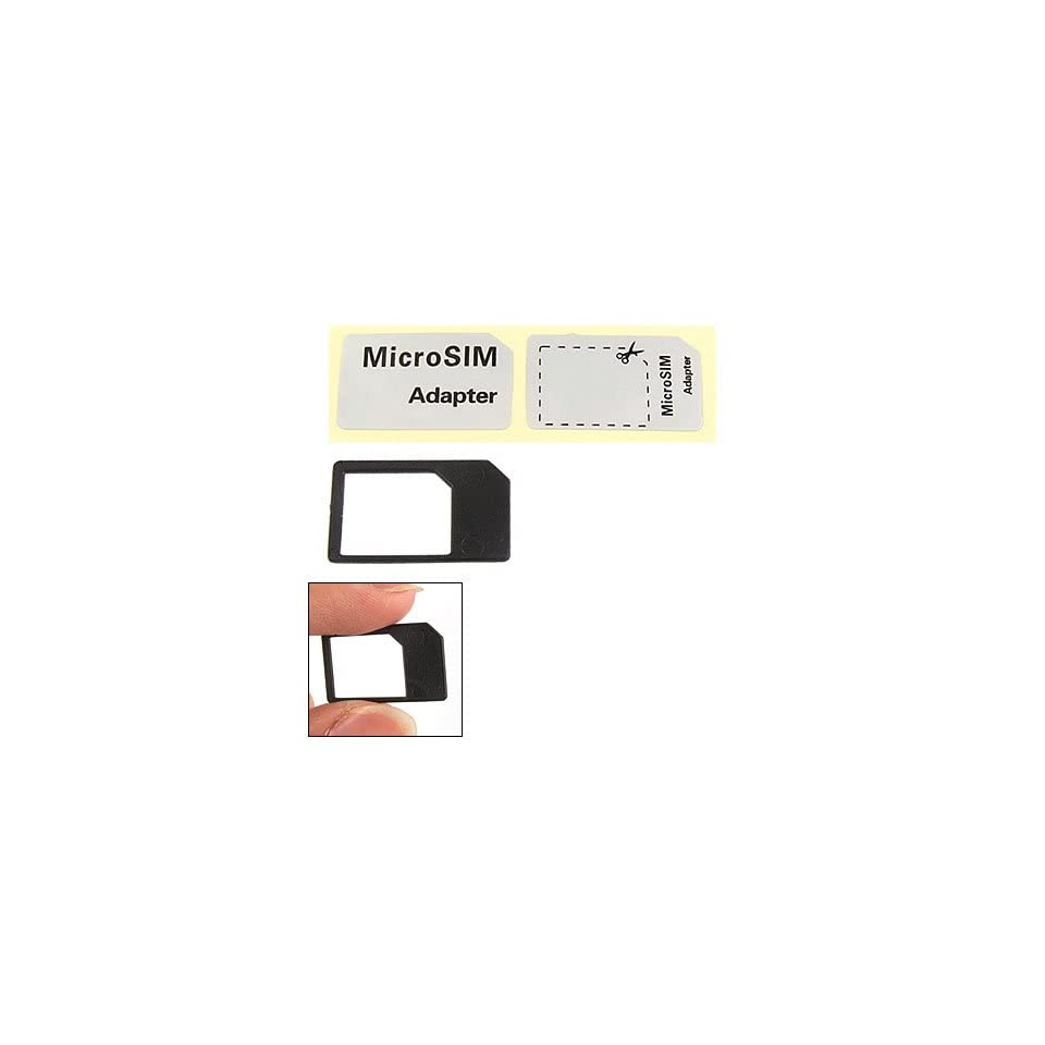 Micro SIM Card Adapter Converter Tray Holder for iPhone 4 4G