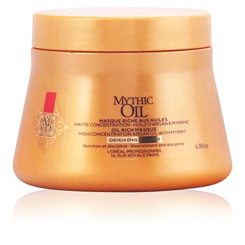 L'óreal Mythic Oil Mask cwith Argan Oil for Thickness for sale  Delivered anywhere in USA