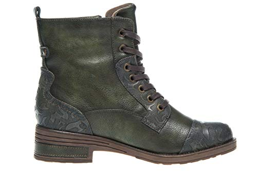 Mustang Woman Stiefelette Olive Stiefelette Mustang Mustang Botines Woman Olive Botines xXvTHqx