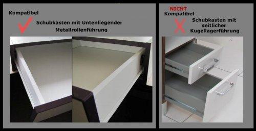 Schubladen Selbsteinzug Dämpfer zum Nachrüsten: Amazon.de: Küche ...