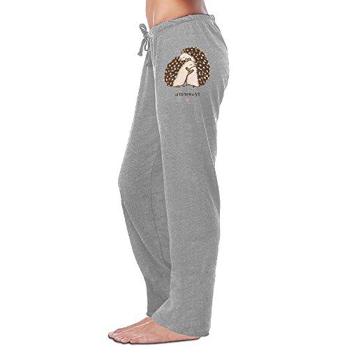 Blu Ribbed Jersey (MEGGE Women's Hedgehog Drawstring Jogger Sweatpants Ash XL)