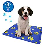 Pro Goleem Dog cool mat, Non-toxic Pet self Cooling Gel Mat for Dog & Cat (Small,50x40cm), Puppy Self Cooling Pad