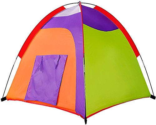 "Cheap Alvantor Kids Colourful Curvy Play Pop up Tent Indoor Outdoor Great Game and Toy Gift for Children Fun, 48"" 48"" 42"" for cheap"