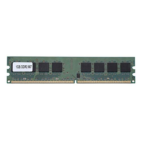 - Bewinner Memory RAM DDR2 1GB, 1GB DDR2 667Mhz 240Pin RAM for AMD Laptop Motherboard Dedicated Memory RAM,Stable Performance and High Speed Operation,Suitable for DDR2 PC2-5300 Desktop Computers