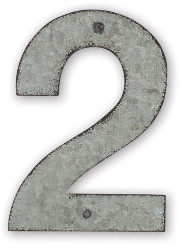 metal address numbers - 4