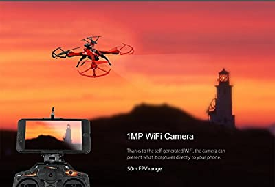 Feilun Cis-176GPS Gps Drone, Red by Feilun