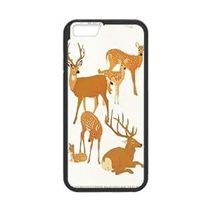 "JenneySt Phone CaseAnimal Deer For Apple Iphone 6,4.7"" screen Cases -CASE-9"