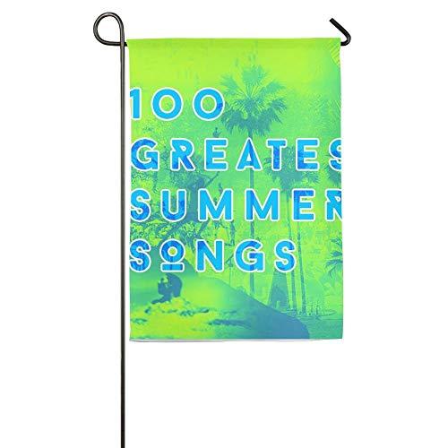 NOAID Custom Garden Flag 10 Summer Songs Garden Flag 12