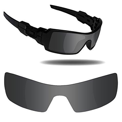 Fiskr Replacement Lenses for Oakley Oil Rig Sunglasses - Various - Lens Oil Rig