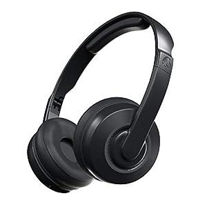 Skullcandy Cassette Wireless On-Ear Headphone with Mic (Black)