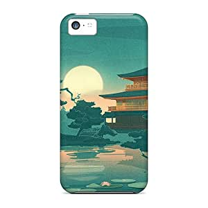 For Iphone 5c Phone Cases Covers(japanese Art)