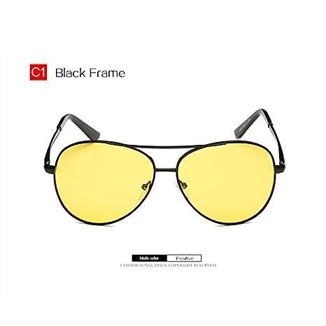 YOOSKE Night Vision Driving Sunglasses Womens  Yellow Lense Glasses Goggles R...
