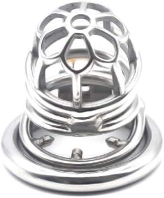 LRWTY 人のための反オフリングの身に着けているおりが付いているステンレス鋼の貞操のおり ( Size : 45mm )