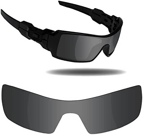 Fiskr Anti-saltwater Polarized Replacement Lenses for Oakley Oil Rig Sunglasses - Multiple Options