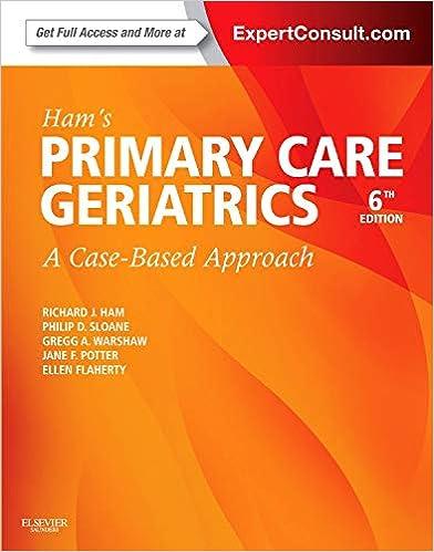 Primary Care Geriatrics: A Case-Based Approach, 5e
