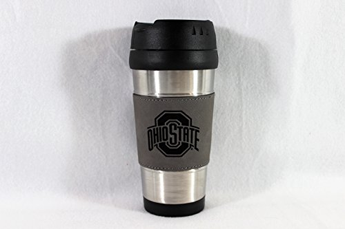 Ohio State Buckeyes Wrapped Stainless Steel Travel Mug (Ohio State Buckeyes Travel Mug)