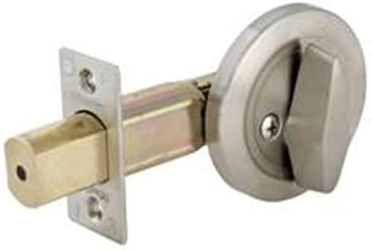 Master Lock Dsc0532d Commercial One Sided Cylinder Deadbolt Satin Chrome Door Dead Bolts Amazon Com