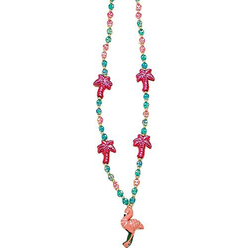 (Forum Novelties 56083 Luau Palm Tree with Flamingo Beads)