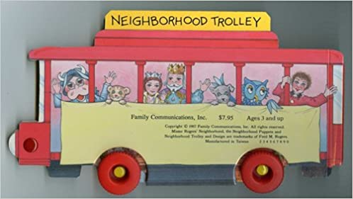 A Trolley Visit To Make Believe Mister Rogers Books Mr Rogers 9780394886176 Amazon Com Books
