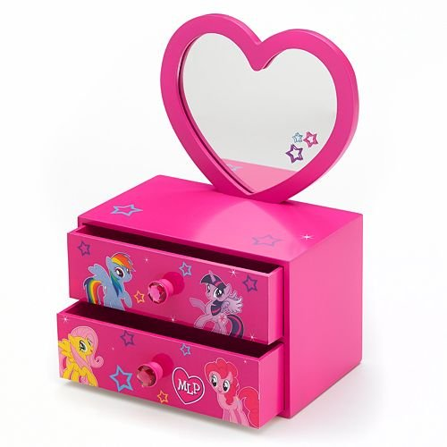 UPC 688955708211, My Little Pony 2-in-1 Jewelry Box with Removable Mirror