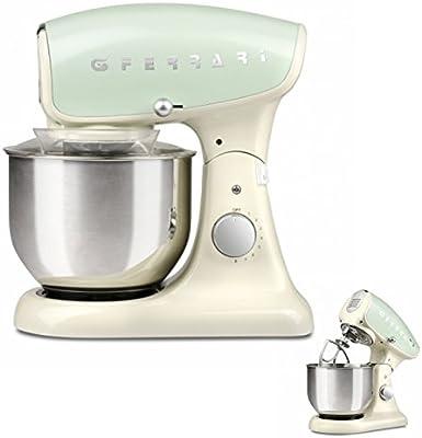 Robot de cocina amasadora profesional Planetaria G3 Ferrari G2007505 Crema: Amazon.es: Grandes electrodomésticos
