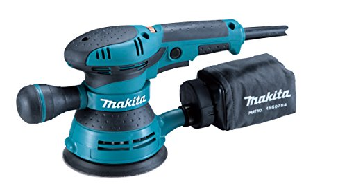 Palm Drill (Makita BO5041 3-Amp 4000-12000 OPM D-Handle Random Orbit Sander, 5-Inch)