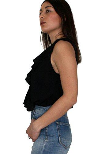 Liu 22222 Body In Variante Unconventional Woman Business Primavera Jeans Liu•jo Viscosa Nero Colore estate Articolo I18299t1948 Jo 2018 xwSx1f