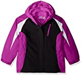 The Children's Place Big Girls' Solid 3-in-1 Jacket, Neon Lilac, M (7/8)