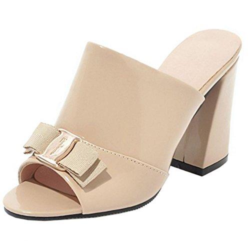 Sandalias Mujer Mulas Sin Bueno Wreapped Melady Mode Heels Cordones 76gIyvYbf
