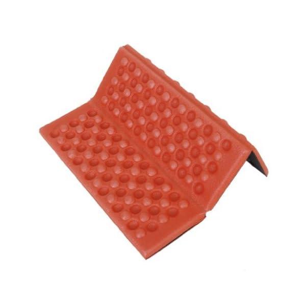YEAH67886Outdoor portabilità schiuma pieghevole cuscino per sedia da campeggio esterno cuscino (rosso) 3 spesavip