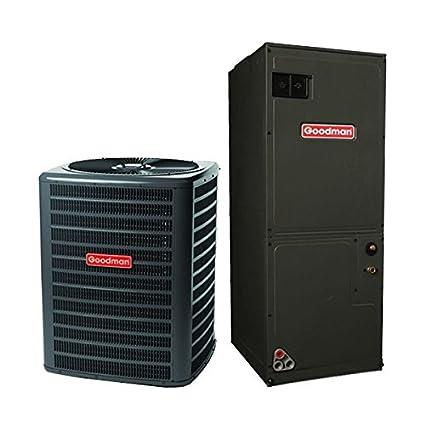 Goodman 2.5 Ton 14 Seer Heat Pump Split System GSZ14030 ARUF31B14