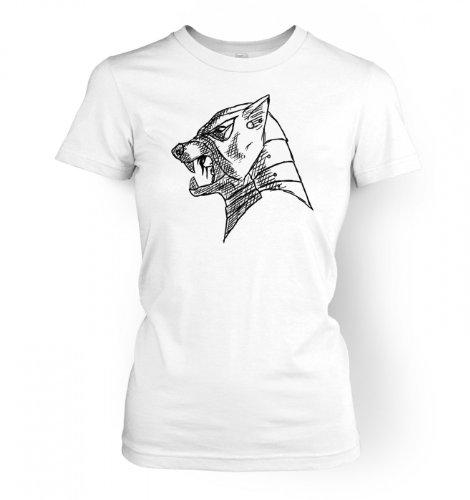 The Hound\'s Helm Women\'s T-shirt Small White -