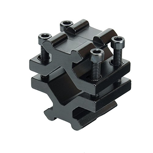 (Universal Dual Sides Picatinny Rail Rifle Barrel Mount Tube Adapter)
