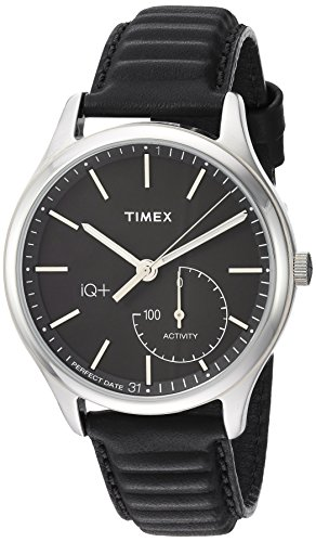 Best Timex Wearable Sleep Trackers - Timex Men's TW2P93200 IQ+ Move Activity