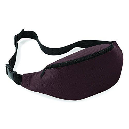 Belt Bag BagBase, Cioccolato, ca, 38 x 14 x 8 cm