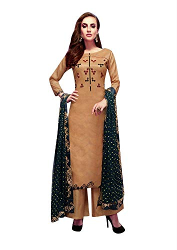 Embroidered Salwar Suit - 9
