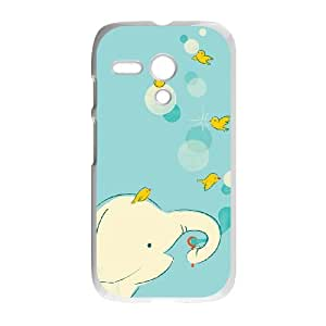 Motorola G Cell Phone Case White Blowing Bubbles Tbqmy