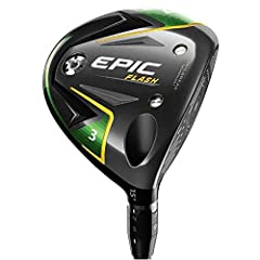 The new Epic Flash fairway wood features our groundbreaking new Flash Face Technology to help golfers of every level and swing speed get more ball speed and distance. We took the insights we acquired from using Artificial Intelligence (A.I.) ...