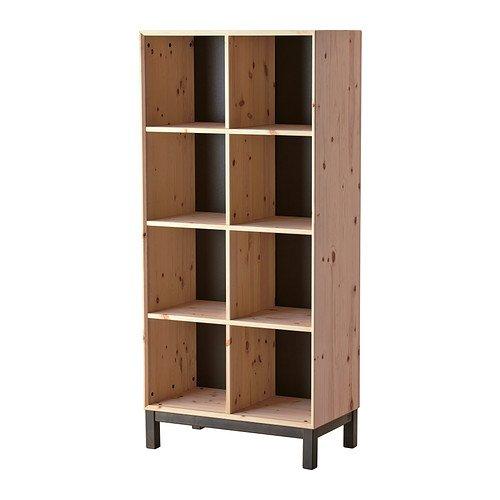 Ikea Bookcase, pine, gray 1026.26229.1430 (Ikea Wine Wall Rack compare prices)