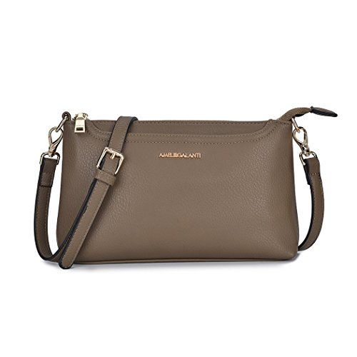 Bag for Leather Satchel Crossbody PU Multi Small Bags Shoulder Muddy Pockets Women Tote q0pnPzxE