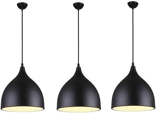 Lot De 3 Moderne Suspension Lumiere Lampe Suspendue Ilot De