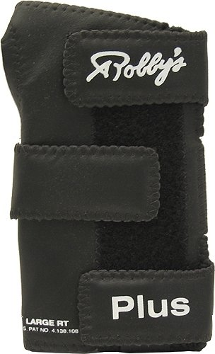 Robby's Leather Plus Left Wrist Support, Medium