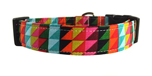 Geometric Dog Collar - The Hudson by Collars by Design
