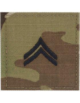 Multicam OCP Rank Insignia Fastener - Corporal CPL (Patches Army Insignia)