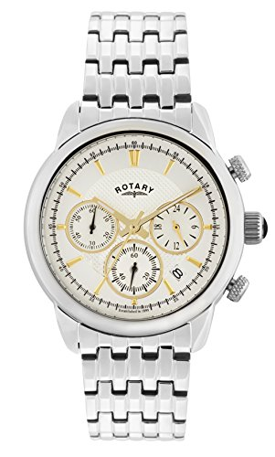 Rotary GB02876/02 Mens Monaco Chronograph Watch w/ Date