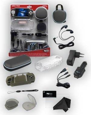 Bigben Interactive PSP Slim & Lite Grey Pack 11 Elements Pack de Accesorios para Consola Compatible Sony PSP: Amazon.es: Informática