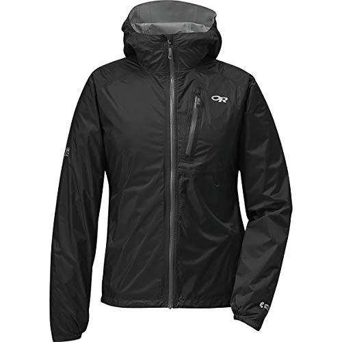 (Outdoor Research Women's Helium II Jacket, Black/Charcoal, Medium)