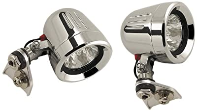 Trail Tech 551-SK450 Polished 35W MR16 Halogen Stock Location Mount Light for Kawasaki KFX450