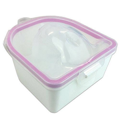 1PCS SOAKING SOAK BOWL TRAY NAIL ART WASH SOAKERS Manicure Treatment Remover (Art Nail Treatment)