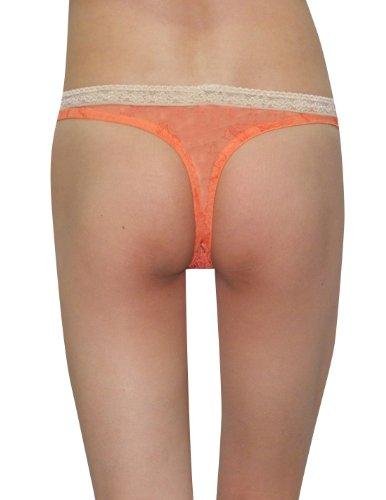 Brief - Tangas - para mujer Orange & White